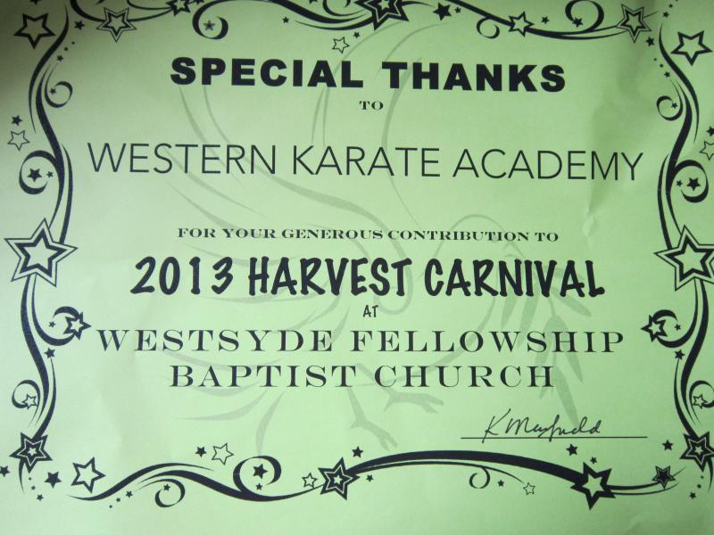 westsyde fellowship karate kamloops