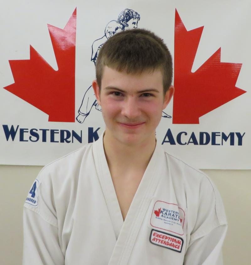 Ethan Wenger western karate academy